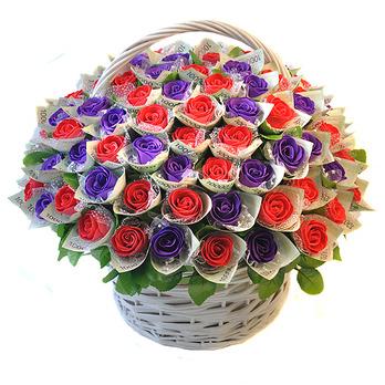 돈꽃100송이비누꽃