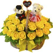 비누꽃-노란빛 사랑