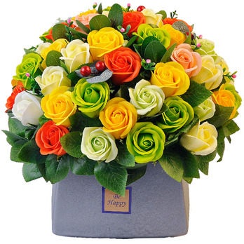 비누꽃-플로럴 가든(Floral Garden)