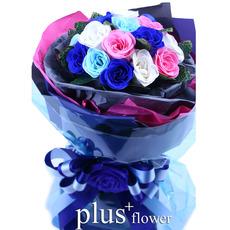 비누꽃-꽃다발D