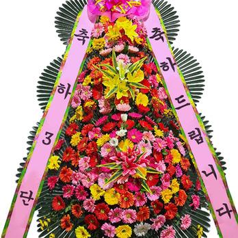 (특대품)축하화환3단